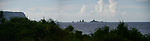 Orchid Island (蘭嶼), Taiwan -- Panoramic view of Battleship Rock.