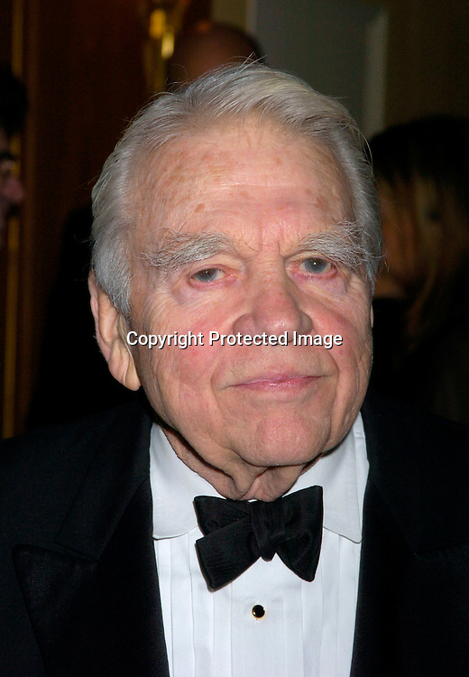 Andy Rooney ..at The Writers Guild of America Annual Awards ceremony on February 21, 2004 at the Pierre Hotel.               Photo by Robin Platzer, Twin Images