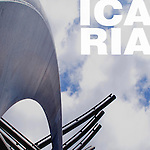 Pérgolas Avda. Icaria - Barcelona - Miralles, Pinós