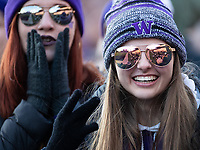 Husky students are excited about cheering on the Dawgs.