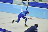 SCHAATSEN: HEERENVEEN: 28-12-2013, IJsstadion Thialf, KNSB Kwalificatie Toernooi (KKT), 500m, Manon Kamminga, ©foto Martin de Jong