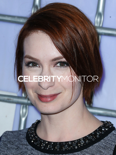 HOLLYWOOD, LOS ANGELES, CA, USA - NOVEMBER 10: Felicia Day arrives at the HaloFest - Halo: The Master Chief Collection Launch Event held at Avalon on November 10, 2014 in Hollywood, Los Angeles, California, United States. (Photo by Xavier Collin/Celebrity Monitor)