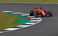 1st August 2020, Silverstone, Northampton, UK; FIA Formula One World Championship 2020, Grand Prix of Great Britain,  qualifying;  5 Sebastian Vettel GER, Scuderia Ferrari Mission Winnow