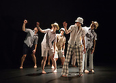 "Yolande Yorke-Edgell's ""Noted"" performed for the Yorke Dance Project at the Lilian Baylis Studio at Sadler's Wells on 14 and 15 November 2012. The project is based on letters spanning five centuries by historic and iconic figures such as Johann Sebastian Bach or Hunter S Thompson. Photo credit: Bettina Strenske"