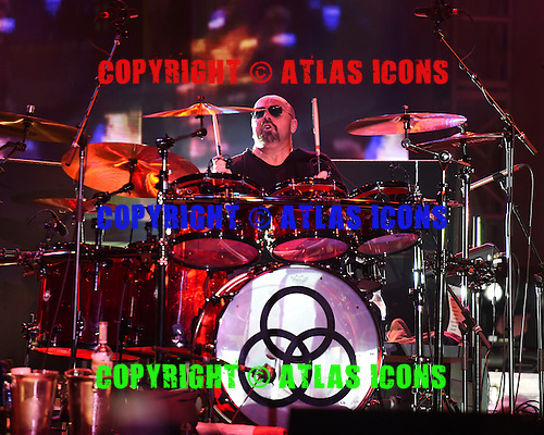 WEST PALM BEACH - APRIL 30: Jason Bonham of Sammy Hagar and The Circle performs during Day 2 of Sunfest on April 30, 2015 in West Palm Beach, Florida.(Photo By Larry Marano (C) 2015