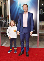 WESTWOOD, CA - APRIL 11: Josh Lucas (R) and Noah Maurer attend the premiere of 20th Century Fox's 'Breakthrough' at Westwood Regency Theater on April 11, 2019 in Los Angeles, California.<br /> CAP/ROT/TM<br /> ©TM/ROT/Capital Pictures