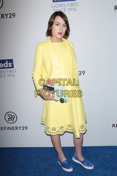 NEW YORK, NY - FEBRUARY 10: Ella Catliff attends Keds Centennial Celebration at Studio 548 on February 10, 2016 in New York City.  <br /> CAP/MPI99<br /> &copy;MPI99/Capital Pictures