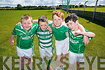 John Houlihan, Calum Carey, Cillian Murphy, Michael Houlihan enjoying the Ballyduff Cul Camp on Thursday