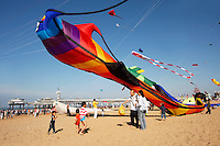Grote vlieger in Scheveningen
