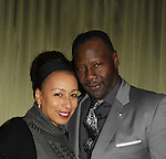 On February 3, 2015 couple separates - As The World Turns and Law and Order SVU Tamara Tunie and Gregory Generet. At the 2013 HeartShare 2013 Celebration of Hope, Thanks and Giving which had cocktails, dinner, auction at Battery Gardens, New York City, New York. Stephen Schnetzer and Tamara Tunie and husband Gregory Generet also support HeartShare. (Photo by Sue Coflin/Max Photos)