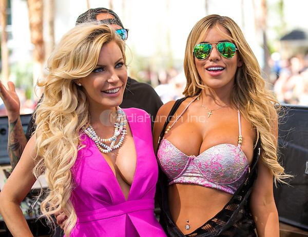 LAS VEGAS, NV - July 11: Crystal Hefner performs a DJ set at REHAB pool party at Hard Rock Hotel & Casino Las Vegas, NV on July 11, 2015. Credit: Erik Kabik Photography/ MediaPunch ***HOUSE COVERAGE***