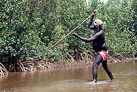 TRADITIONAL FISHING,ABORIGINAL