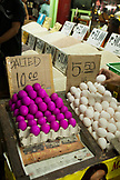 PHILIPPINES, Palawan, Puerto Princessa, eggs for sale at the Old Market in the City Port Area