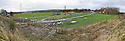 22nd November 2011 - Panoramic picture of the Helix Central Park site as the work on the access road from Etna Roundabout gets underway.