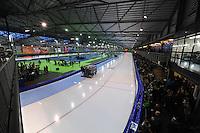 SCHAATSEN: GRONINGEN: Sportcentrum Kardinge, 18-01-2015, KPN NK Sprint, overzicht ijsbaan, ©foto Martin de Jong