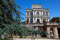 Villa Pamphilj, where the Italian Premier convened the States General of Economy. The summit was strictly behind closed doors and the press was kept outside. Rome (Italy), June 13th 2020<br /> Samantha Zucchi Insidefoto