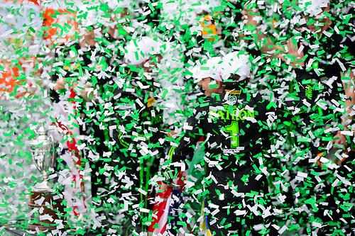 28-31  January, 2016, Daytona Beach, Florida USA<br /> Podium:  2, Honda HPD, Ligier JS P2, P, Scott Sharp, Ed Brown, Joannes van Overbeek, Luis Felipe Derani. <br /> ©2016, Richard Dole<br /> LAT Photo USA