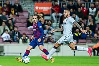 2nd February 2020; Camp Nou, Barcelona, Catalonia, Spain; La Liga Football, Barcelona versus Levante; Antoine Griezmann of FC Barcelona crosses into the box