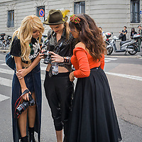 Terzo giorno della Settimana della Moda a Milano edizione 2013: Trussardi ha scelto la Rotonda Besana per la sfilata<br /> <br /> Third day of Milan fashion week 2013 edition: Trussardi chose Rotonda Besana for his fashion show.
