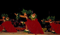 Merrie Monarch Kahiko Dancers