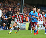 Billy Sharp of Sheffield Utd during the English League One match at Glanford Park Stadium, Scunthorpe. Picture date: September 24th, 2016. Pic Simon Bellis/Sportimage