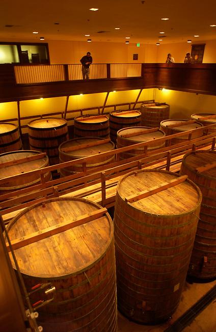 Barrels at Sterling Vineyards....