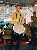 Percussionist, Richard Benjafield, London.