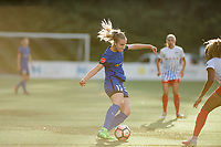Seattle, WA - Wednesday, June 28, 2017: Beverly Yanez during a regular season National Women's Soccer League (NWSL) match between the Seattle Reign FC and the Chicago Red Stars at Memorial Stadium.