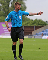 Referee Ollie Yates in action<br /> <br /> Photographer David Shipman/CameraSport<br /> <br /> The EFL Sky Bet League One - Oxford United v Fleetwood Town - Saturday August 11th 2018 - Kassam Stadium - Oxford<br /> <br /> World Copyright &copy; 2018 CameraSport. All rights reserved. 43 Linden Ave. Countesthorpe. Leicester. England. LE8 5PG - Tel: +44 (0) 116 277 4147 - admin@camerasport.com - www.camerasport.com