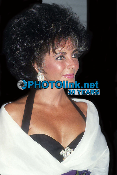 Elizabeth Taylor 1987<br /> Photo By John Barrett/PHOTOlink.net