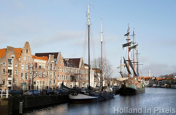 Nederland Haarlem 2016. Zeilschepen in het Spaarne. Foto Berlinda van Dam / Hollandse Hoogte