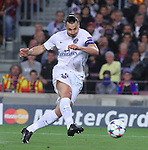 21.04.2015 Barceloona. UEFA Champions League, Quarter-finals 2nd leg. Picture show Zlatan Ibrahimovic in action during game between FC Barcelona against Paris Saint-Germain at Camp Nou