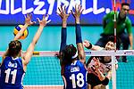 FIVB Volleyball Nations League Hong Kong match between Japan and Italy on May 29, 2018 in Hong Kong, Hong Kong. Photo by Marcio Rodrigo Machado / Power Sport Images