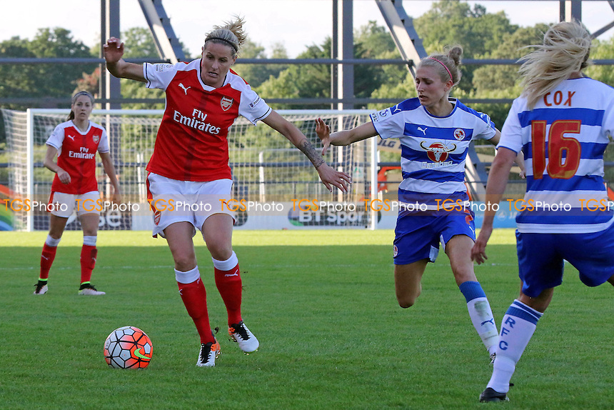 Kelly Smith of Arsenal in possession during Reading FC Women vs Arsenal Ladies, FA WSL Continental Cup Football at the Hive Stadium on 2nd July 2016