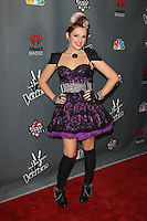 WEST HOLLYWOOD, CA - NOV 8: Michaela Paige at the NBC's 'The Voice' Season 3 at House of Blues Sunset Strip on November 8, 2012 in West Hollywood, California.  Credit: mpi27/MediaPunch Inc. /NortePhoto.com