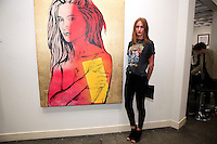 SANTA MONICA - JUN 25: Camille Yi at the David Bromley LA Women Art Exhibition opening reception at the Andrew Weiss Gallery on June 25, 2016 in Santa Monica, California