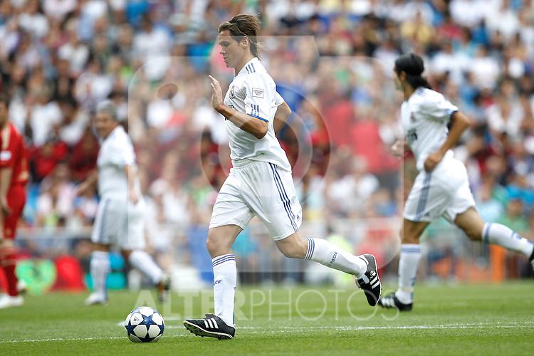 'Corzaon Classic, All for Africa'; friendly match Real Madrid vs Bayern Munchen veterans. Fernando Redondo...Photo: Cesar Cebolla / ALFAQUI