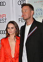 "LOS ANGELES, CA. November 08, 2018: Felicity Jones & Armie Hammer at the AFI Fest 2018 world premiere of ""On the Basis of Sex"" at the TCL Chinese Theatre.<br /> Picture: Paul Smith/Featureflash"