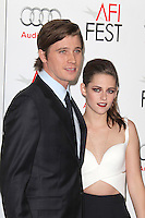 HOLLYWOOD, CA - NOVEMBER 03: Garrett Hedlund and Kristen Stewart at the 'On The Road' premiere during the 2012 AFI Fest presented by Audi at Grauman's Chinese Theatre on November 3, 2012 in Hollywood, California. Photo By mpi22/MediaPunch Inc. .<br />
