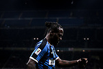 Victor Moses of Inter leaves the field of play after being substituted during the Coppa Italia match at Giuseppe Meazza, Milan. Picture date: 12th February 2020. Picture credit should read: Jonathan Moscrop/Sportimage