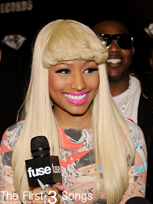 Singer NICKI MINAJ, real name ONIKA MARAJ, attends the Cash Money Records Annual Pre-Grammy Awards Party at the Lot in West Hollywood on Saturday, February 12, 2011.