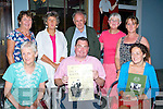CLAN: Brosnan's and Walsh,s met up at Herlihy's Bar Farranfore for the entertainment of tradional music which was in conjuction with the East Kerry Roosts Festival & The Gathering of the Brosnan Clan, Front l-r: Breda Walsh (nee Brosnan), Nigel Brosnan (Farranfore) and Maura Quinlan (Killarney). Backl l-r: Doreen and Mary Brosnan (Killarney), Mike Brosnan (Muckross), Catherine Brosnan (Cork) and Josie Brosnan (Muckross).