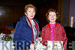 Angela Davoren and Mary Power from Causeway enjoying the Causeway Senior citizens Christmas Party in the Ballyroe Hotel on Sunday.