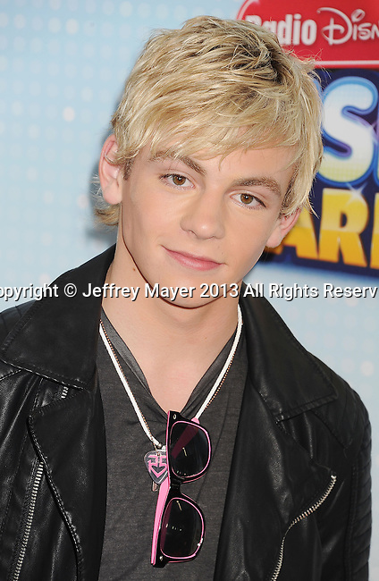 LOS ANGELES, CA- APRIL 27: Actor Ross Lynch arrives at the 2013 Radio Disney Music Awards at Nokia Theatre L.A. Live on April 27, 2013 in Los Angeles, California.