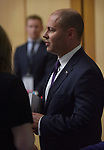 Josh Frydenberg, Australia's treasurer, is pictured inside the budget lock-up at Parliament House in Canberra, Australia, on Tuesday, April 2, 2019. Photographer: Mark Graham/Bloomberg