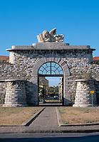 Italien, Toskana, Livorno, Porta San Marco