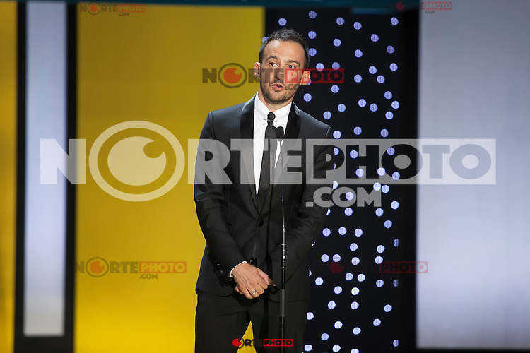 Movie director Alejandro Amenabar during the 63rd Donostia Zinemaldia opening ceremony (San Sebastian International Film Festival) in San Sebastian, Spain. September 18, 2015. (ALTERPHOTOS/Victor Blanco) /NortePhoto.com
