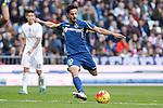 Getafe´s Sarabia during La Liga match at Santiago Bernabeu stadium in Madrid, Spain. December 05, 2015. (ALTERPHOTOS/Victor Blanco)