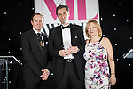 © Joel Goodman - 07973 332324 . 02/03/2017 . Manchester , UK . Team of the Year – Corporate/Commercial Winner , Eversheds Sutherland (International) . The Manchester Legal Awards at the Midland Hotel . Photo credit : Joel Goodman