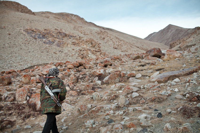 Ooroon Boi goes looking for Marco Polo sheep, an endangered species...Trekking with yak caravan through the Little Pamir where the Afghan Kyrgyz community live all year, on the borders of China, Tajikistan and Pakistan.